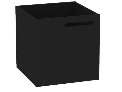 TemaHome Berlin Boîte de Rangement Noir laqué 34 x 33 x 34 cm