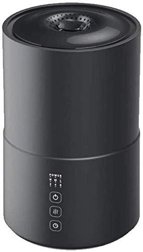 lndytq Humidificador ultrasónico de Niebla fría para Dormitorio: humidificadores de llenado Superior con Apagado automático del Tanque de Agua silencioso