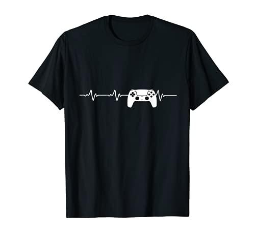 Gamer Videospiele Konsole Gaming Controller Zocken T-Shirt