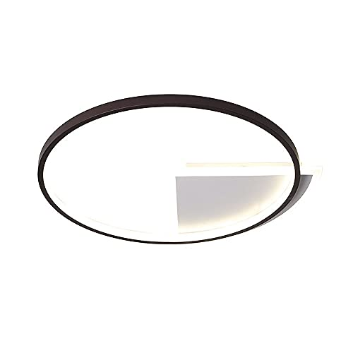 LPFWSK Fan-shaped Decorative Flush Mount Ultra-thin Ceiling Light Adjustable 3000K-6000K Household Lighting Fixtures Simple Modern Style Bedroom Living Room Study Room Ceiling Lamp