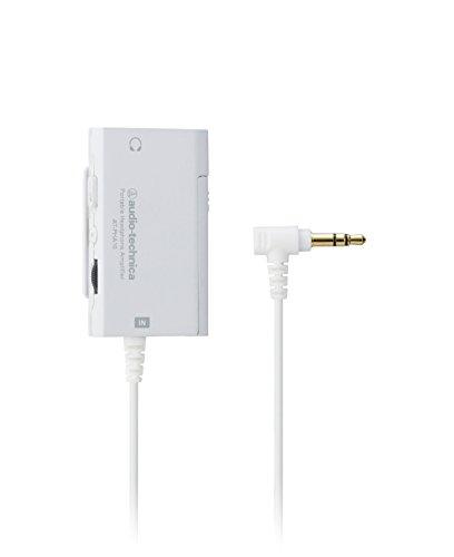 audio-technica ポータブルヘッドホンアンプ ホワイト AT-PHA10 WH