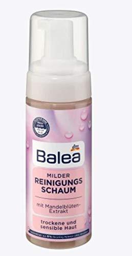 Milder Reinigungsschaum - Mit Mandelblüten-Extrakt - Für Trockene und sensible Haut - 150 ml
