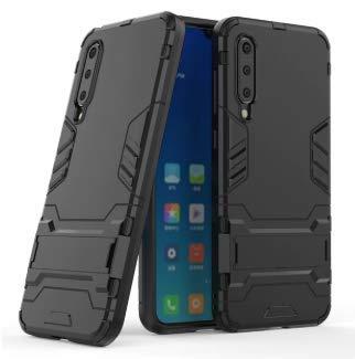 Capa Armor Militar + Película Vidro 9d Xiaomi Mi 9 Se Mi9se (CAPA ANTI IMPACTO ARMOR MILITAR DEFENDER PRETA+ PELÍCULA DE VIDRO 9D COM BORDAS PRETAS)