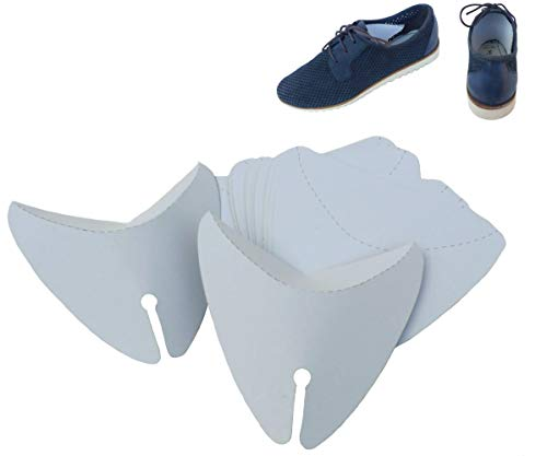 Cardboard Shoe Inserts to keep Shape, Form for Women and Men Shoes/pack of 20 PCS – 10 pairs Off-white Size: L