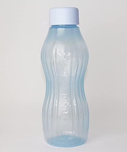 Tupperware EcoEasy Xtrem Aqua - 1 botella de 880 ml para bebidas heladas + cuchara colgante Cal