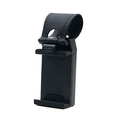 chenshaorme Volante del Coche Teléfono Clip Titular de Montaje Universal Bicicleta Auto GPS de la cámara del Soporte del iPhone de Samsung