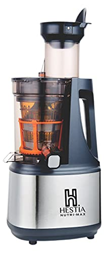 Hestia Appliances - Nutri-Max Cold Press Juicer with World's Highest Warranty, 240 Watts Powerful...