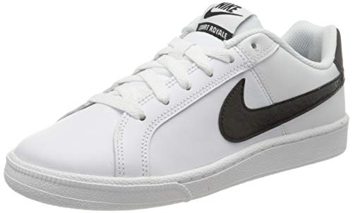 Nike Damen WMNS Court Royale Sneaker, Weiß (Blanc/Noir 111), 37.5 EU