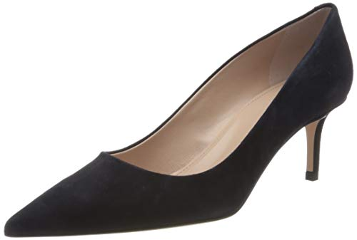 HUGO Damen Ivy Pump 60-S Pumps, Blau (Dark Blue 402), 36 EU