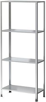 Ikea HYLLIS - Estantería (galvanizada, 60 x 27 x 140 cm ...