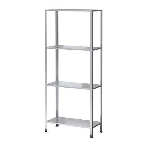 Ikea HYLLIS - Estantería (galvanizada, 60 x 27 x 140 cm)
