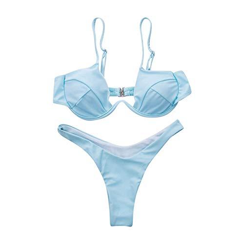 Bikini FDASIA bh bikiniset badpak dames effenbandage push-up driehoek badmode badpakken Biquini badmode