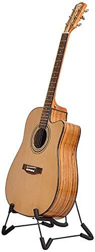 Gitarrenständer Bühnengitarrenständer Aufhänger for Bass-Aufhänger Akustik Klassische E-Gitarre akustische elektrische Konzertgitarren und Violine Ukulele (Farbe: Schwarz, Größe: 29x29x35cm)