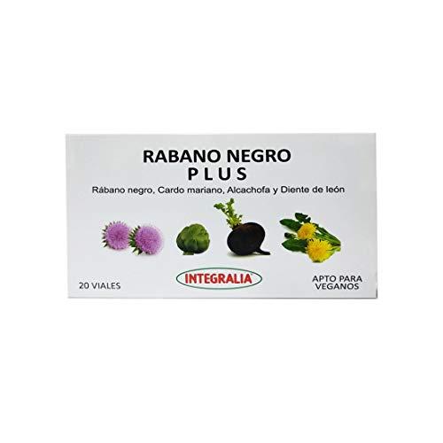 Rabano Negro Plus 20 viales de Integralia