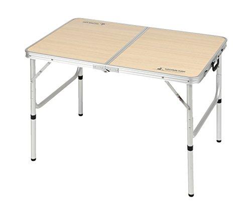 キャプテンスタッグ(CAPTAIN STAG) テーブル ジャスト サイズ ラウンジ チェア で食事がしやすい テーブル ...