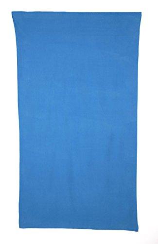 Export Trading Karameloon handdoek microvezel blauw 180 x 100 cm