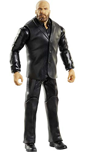 WWE Figura básica Muñeco de colección articulado, Juguete para niños +6 años, Modelos Surtidos (Mattel GTG32)