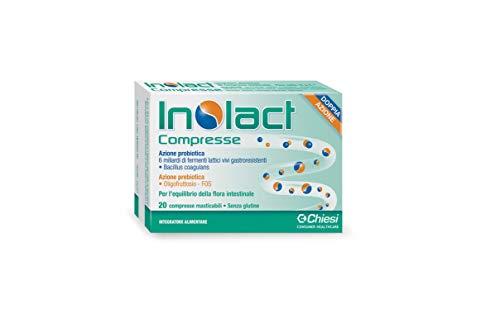 Inolact 20 Cpr - Integratore Alimentare - Fermenti Lattici Equilibrio Flora Intestinale