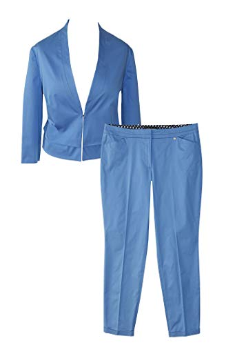 Gerry Weber Damen Anzug Gr. 46 Damenblazer Damenhose Hosenanzug