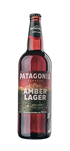 Cerveja Patagonia Amber Lager, Garrafa, Patagonia, 740ml