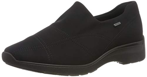 ARA Women's Slip-On Sneaker, Black, 9