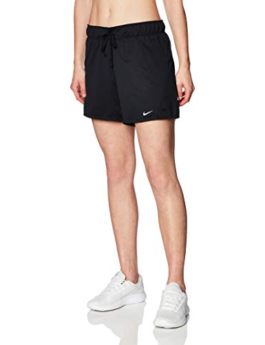 Nike Women's Dri-fit Attack 2.0 Tr5 Shorts, Black/(Particle Grey), Small