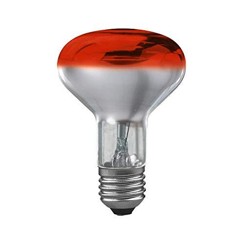 Paulmann 250.61 lámpara reflectora R80 60W E27 cristal rojo 25061 bombilla, 60 W, 11.5 x 80 x 11.5 cm