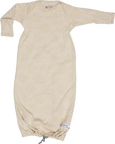 Lodger Unisex baby Hopper Newborn slaapzak, ivoor (ivoor 086), Neugeboren (fabrikantmaat: New Born)