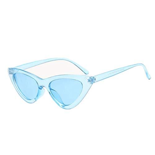 Sunglasses Gafas de Sol Lindo Sexy Señoras Ojo De Gato Gafas De Sol Mujeres Vintage Pequeñas Gafas De