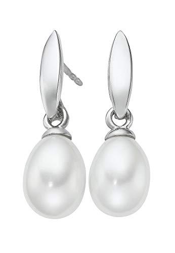CHRIST Pearls Damen-Ohrstecker 375er Weißgold 2 Süßwasser One Size 87481239