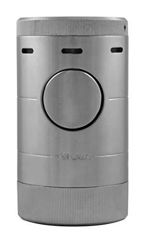 Xikar Volta Quad Flame Encendedor de Puros de Mesa en una Atractiva Caja de Regalo