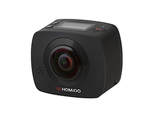 homido Kamera 360° kompatibel mit iOS/Android Schwarz