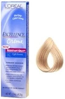 L'OREAL Technique Excellence Crème Gray Coverage No. 9 1/2 .1 Extra Light Ash Blonde 1.7 oz/49.29 g