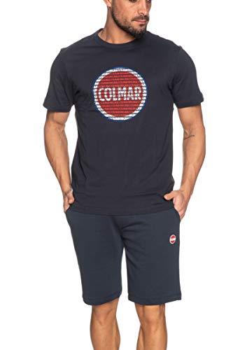 Colmar T-Shirt Uomo MOD. 7569 6SH 68 Navy XXL