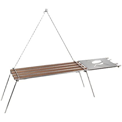 FXJ Mesa Camping Plegable Mesa Plegable pequeña al Aire Libre Mesa Multifuncional...