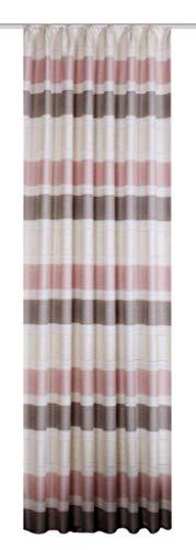Home fashion kant-en-klaar gordijn, roze, 145 x 140 cm