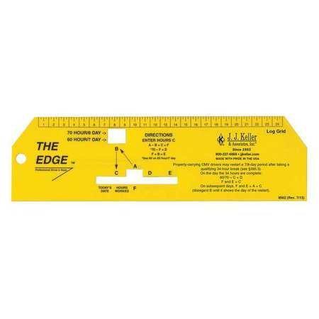 Log Book Ruler, 2' x 7-1/4' L (3 Pieces)