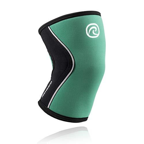Rehband RX - Rodillera (talla M), color verde y negro