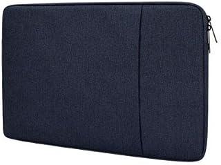 Dot. Funda Portátil Compatible con HP Pavilion G6 y Cualquier Otro 15-15.6 Notebook Pulgadas Macbook Chromebook Protector Vertical Suave Funda de Transporte Funda - Azul Medianoche