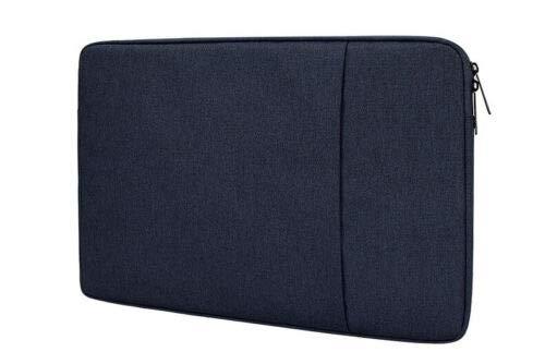 Dot. Funda Portátil Compatible con Lenovo Ideapad 330-15ICH y Cualquier Otro 15-15.6 Notebook Pulgadas Macbook Chromebook Protector Vertical Suave Funda de Transporte Funda - Azul Medianoche