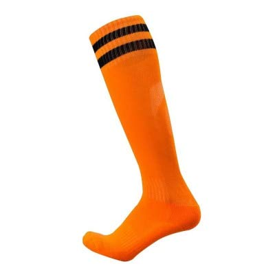 UKKD Medias Calcetines De Fútbol Adulto Resistencia A Los Niños Resistentes A Los Niños Medias De Deportes De La Rodilla High House Hockey Socks 2 Pares