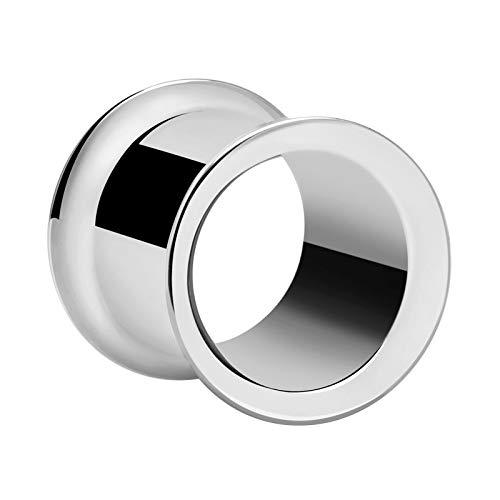 Crazy Factory Double Flared Tube aus Chirurgenstahl 316L   8mm • Piercing • Ohr • Bester Preis • Allrounder • Nickelfrei