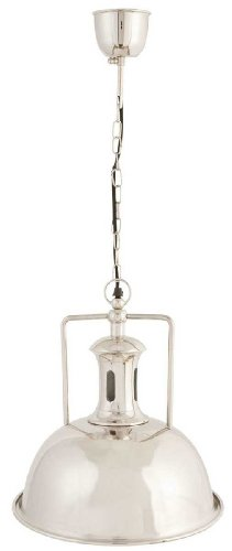 5LMP017 lámpara colgante lámpara de techo lámpara silberfarben aproximadamente 171 x Ø 35,5 cm E27 máximo de 60 vatios