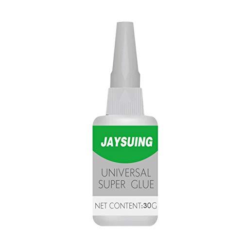 Gyratedream Jaysuing 50g Uniglue General Super Lijm Sterke Plastic Lijm voor hars Keramisch Metaal Glas, 50ML, uithardingstijd 8-10s G1
