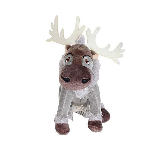 Junluck 20cm Kawaii Cartone Animato Renna Peluche Giocattolo di Peluche Bambini di Natale Simulazione Regalo Peluche Giocattolo Peluche