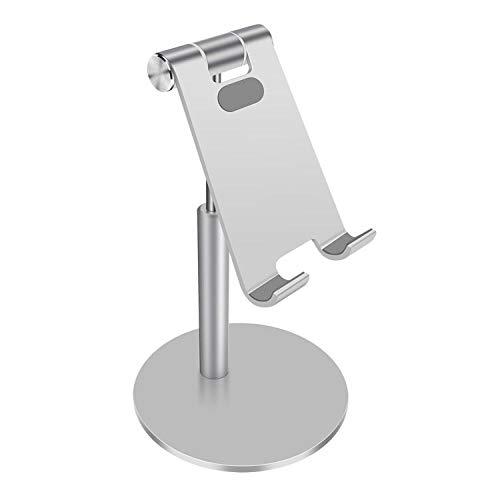 SXPSYWY Soporte para teléfono móvil Soporte de Mesa Plegable Universal para teléfono Celular Soporte de Escritorio de plástico Soporte para Tableta para teléfono móvil para iPhone Samsung TSLM11