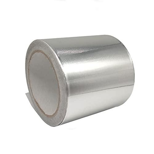 Nastro Adesivo di Alluminio,Nastro D'alluminio Color Argento,Usato per Riparare,Sigillare e Proteggere,Condotti di Condizionamento Dell'aria,Condotti di Riscaldamento Ventilazione
