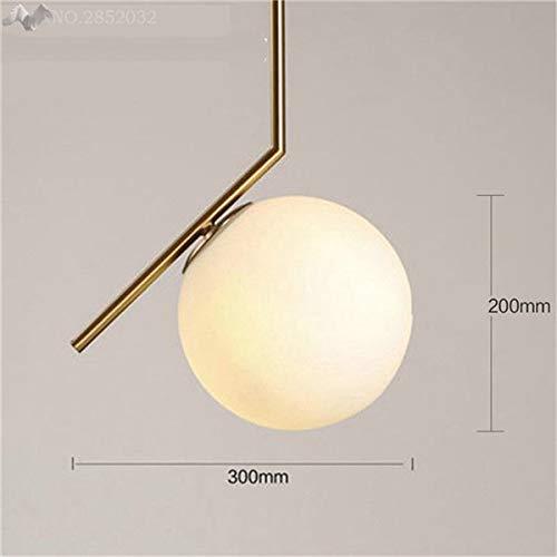 5151BuyWorld hanglamp, modern, glazen bolletjes, van hoogwaardig licht met hanginglicht, voor binnen en buiten