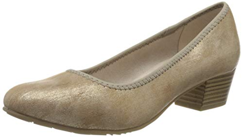 Jana Softline Damen 8-8-22361-24 Pumps, Gold (Bronze Metall 953), 37 EU