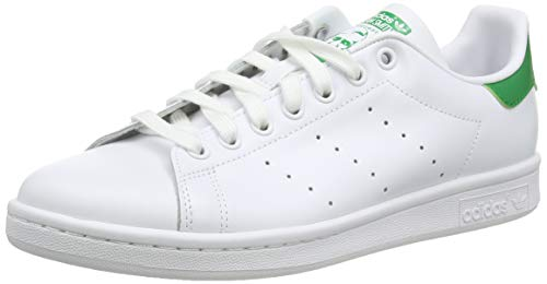 Adidas Stan Smith M20324, Zapatillas de Deporte Unisex Adulto, Blanco (Running White Footwear/Running White/Fairway), 43 1/3 EU